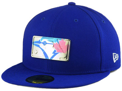 Toronto Blue Jays New Era MLB Mixed Metal 59FIFTY Cap