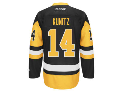 Pittsburgh Penguins Chris Kunitz Reebok NHL Premier Player Jersey