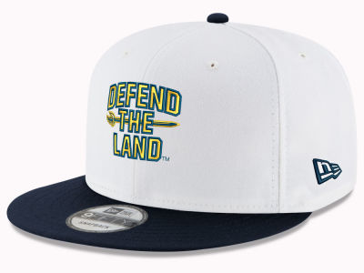 Cleveland Cavaliers New Era NBA Defend the Land 9FIFTY Snapback Cap