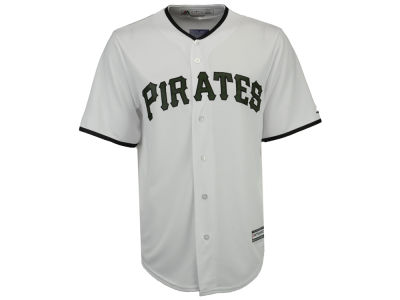 Pittsburgh Pirates Majestic MLB Men's Memorial Day Cool Base Jersey