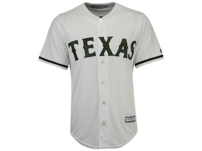 Texas Rangers Majestic 2017 MLB Men's USMC Cool Base Jersey