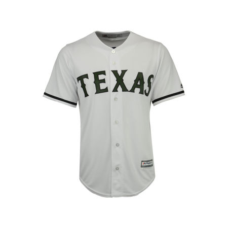 Texas Rangers 2017 MLB Men's USMC Cool Base Jersey