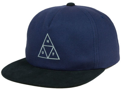 Huf  Triple Triangle Canvas Snapback Cap