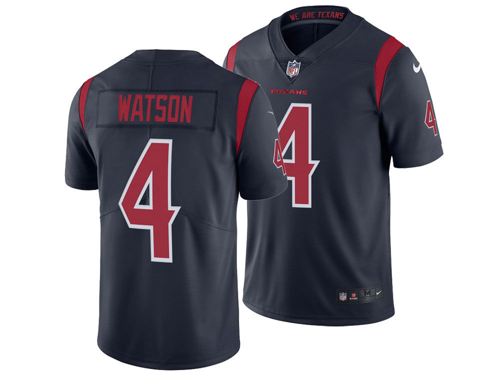 65e3c3733b9 ... switzerland houston texans deshaun watson nike nfl mens limited color  rush jersey d2cac 3575d