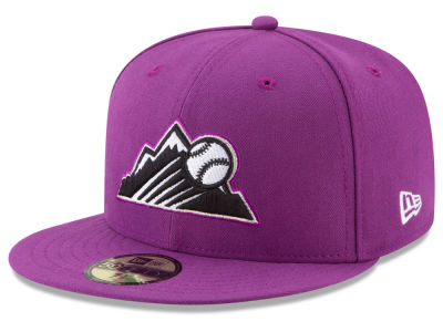 Colorado Rockies New Era 2017 MLB Players Weekend 59FIFTY Cap