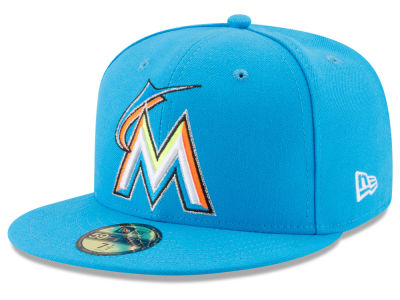 Miami Marlins New Era 2017 MLB Players Weekend 59FIFTY Cap