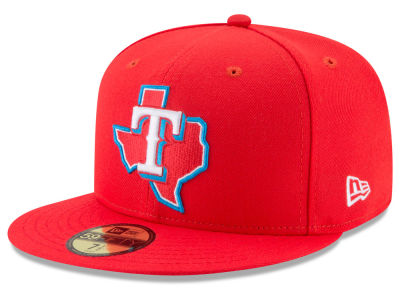 Texas Rangers New Era 2017 MLB Players Weekend Kids 59FIFTY Cap
