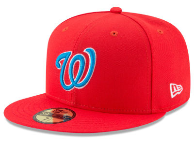 Washington Nationals New Era 2017 MLB Players Weekend Kids 59FIFTY Cap