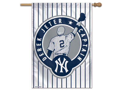 New York Yankees Derek Jeter Wincraft Vertical Flag - 28x40 - EVENT