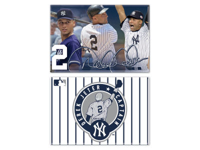 New York Yankees Derek Jeter Magnet 2-pack