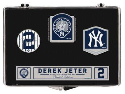New York Yankees Derek Jeter Pin Set- Event