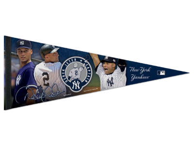 New York Yankees Derek Jeter 12x30 Event Premium Pennant