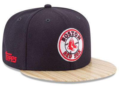 Boston Red Sox New Era MLB X Topps 1987 9FIFTY Snapback Cap
