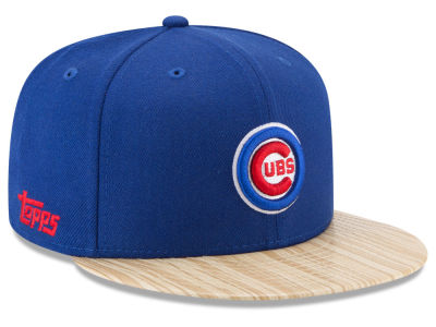 Chicago Cubs New Era MLB X Topps 1987 9FIFTY Snapback Cap
