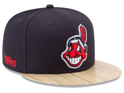 Cleveland Indians New Era MLB X Topps 1987 9FIFTY Snapback Cap