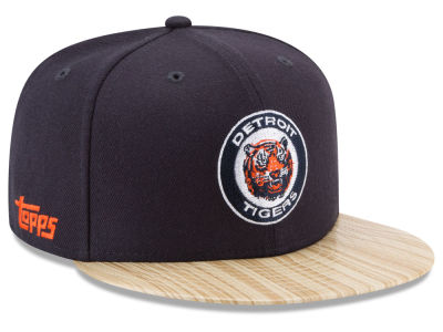 Detroit Tigers New Era MLB X Topps 1987 9FIFTY Snapback Cap
