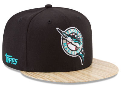 Florida Marlins New Era MLB X Topps 1987 9FIFTY Snapback Cap