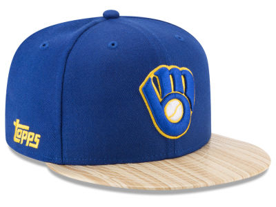Milwaukee Brewers New Era MLB X Topps 1987 9FIFTY Snapback Cap