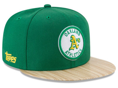 Oakland Athletics New Era MLB X Topps 1987 9FIFTY Snapback Cap