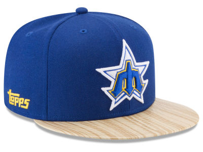 Seattle Mariners New Era MLB X Topps 1987 9FIFTY Snapback Cap