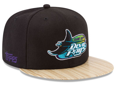 Tampa Bay Rays New Era MLB X Topps 1987 9FIFTY Snapback Cap