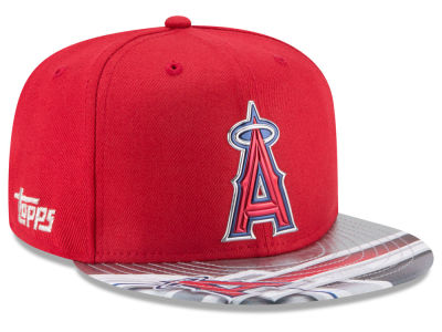 Los Angeles Angels New Era MLB X Topps Chrome 9FIFTY Snapback Cap