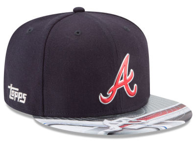 Atlanta Braves New Era MLB X Topps Chrome 9FIFTY Snapback Cap