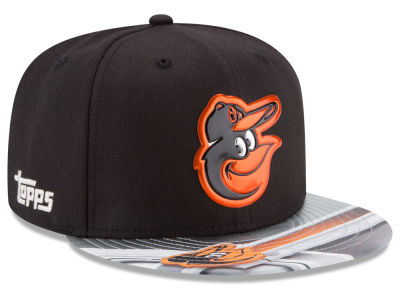 Baltimore Orioles New Era MLB X Topps Chrome 9FIFTY Snapback Cap