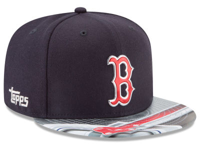 Boston Red Sox New Era MLB X Topps Chrome 9FIFTY Snapback Cap