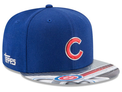 Chicago Cubs New Era MLB X Topps Chrome 9FIFTY Snapback Cap