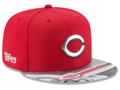 Cincinnati Reds New Era MLB X Topps Chrome 9FIFTY Snapback Cap