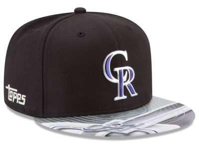 Colorado Rockies New Era MLB X Topps Chrome 9FIFTY Snapback Cap