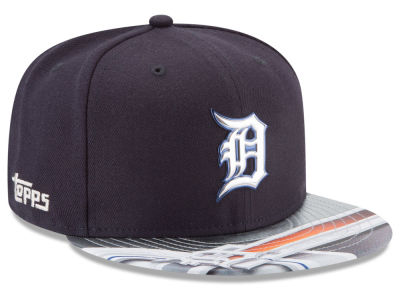 Detroit Tigers New Era MLB X Topps Chrome 9FIFTY Snapback Cap