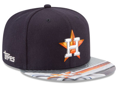Houston Astros New Era MLB X Topps Chrome 9FIFTY Snapback Cap