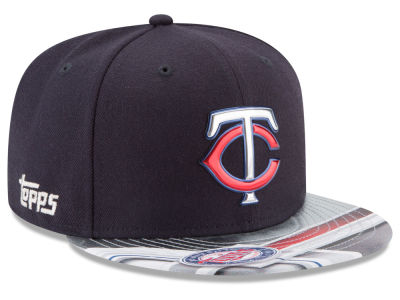 Minnesota Twins New Era MLB X Topps Chrome 9FIFTY Snapback Cap