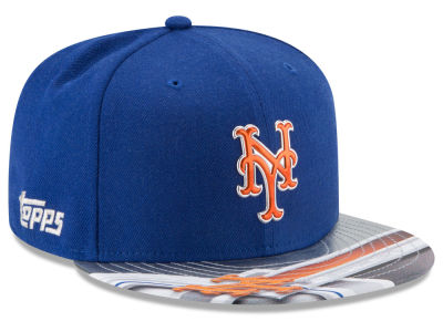 New York Mets New Era MLB X Topps Chrome 9FIFTY Snapback Cap