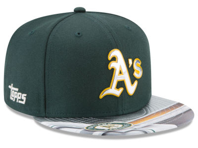 Oakland Athletics New Era MLB X Topps Chrome 9FIFTY Snapback Cap