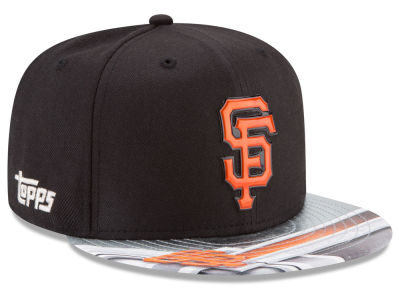 San Francisco Giants New Era MLB X Topps Chrome 9FIFTY Snapback Cap