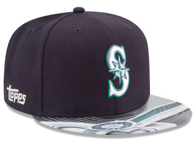 Seattle Mariners New Era MLB X Topps Chrome 9FIFTY Snapback Cap