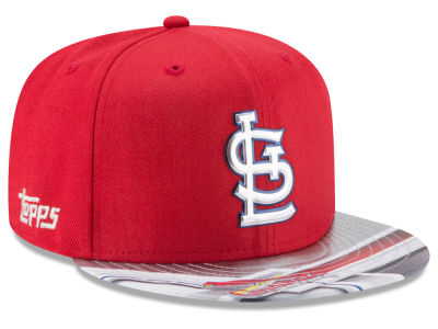 St. Louis Cardinals New Era MLB X Topps Chrome 9FIFTY Snapback Cap