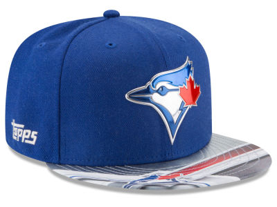 Toronto Blue Jays New Era MLB X Topps Chrome 9FIFTY Snapback Cap