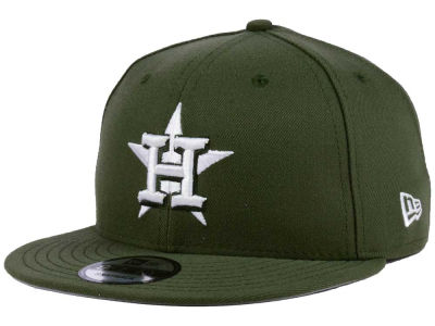 Houston Astros New Era MLB Pantone 9FIFTY Snapback Cap