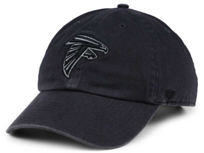Atlanta Falcons '47 NFL Dark Charcoal CLEAN UP Cap