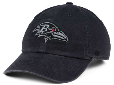 Baltimore Ravens '47 NFL Dark Charcoal CLEAN UP Cap