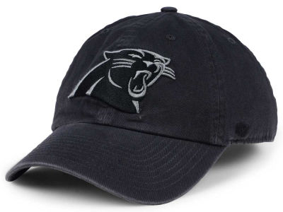 Carolina Panthers '47 NFL Dark Charcoal CLEAN UP Cap