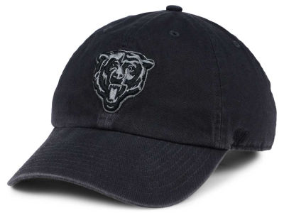 Chicago Bears '47 NFL Dark Charcoal CLEAN UP Cap