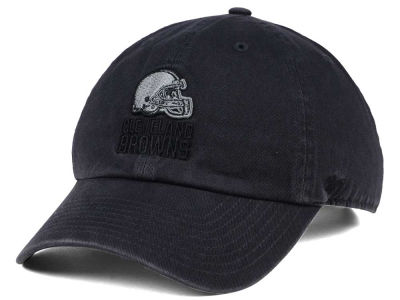Cleveland Browns '47 NFL Dark Charcoal CLEAN UP Cap