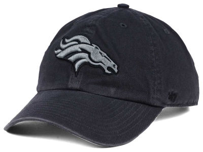Denver Broncos '47 NFL Dark Charcoal CLEAN UP Cap