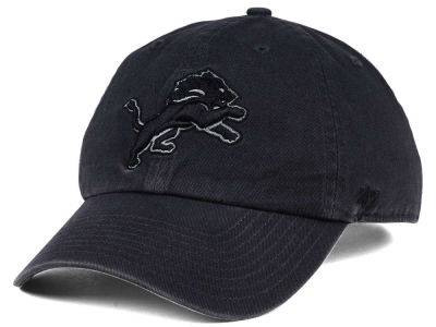 Detroit Lions '47 NFL Dark Charcoal CLEAN UP Cap