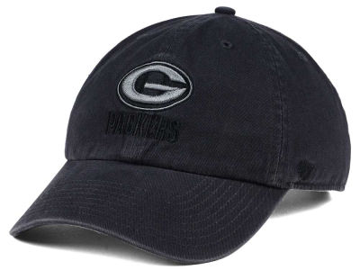 Green Bay Packers '47 NFL Dark Charcoal CLEAN UP Cap
